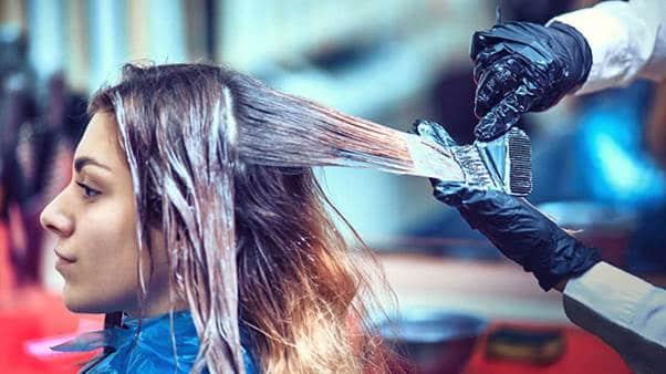 عوارض رنگ موی گیاهی