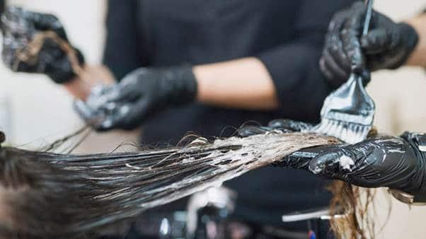 سردرد بعد از رنگ مو