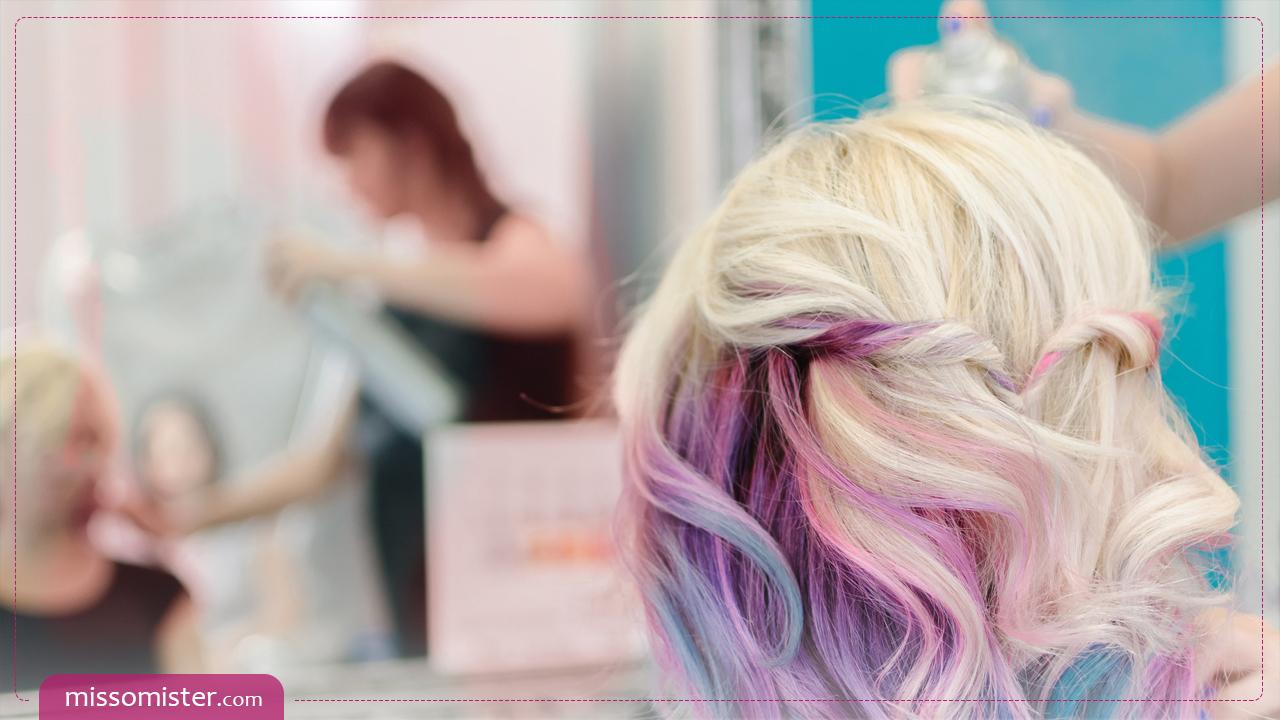 آشنایی با 7 مدل رنگ موی خاص و روش ترکیب آن ها