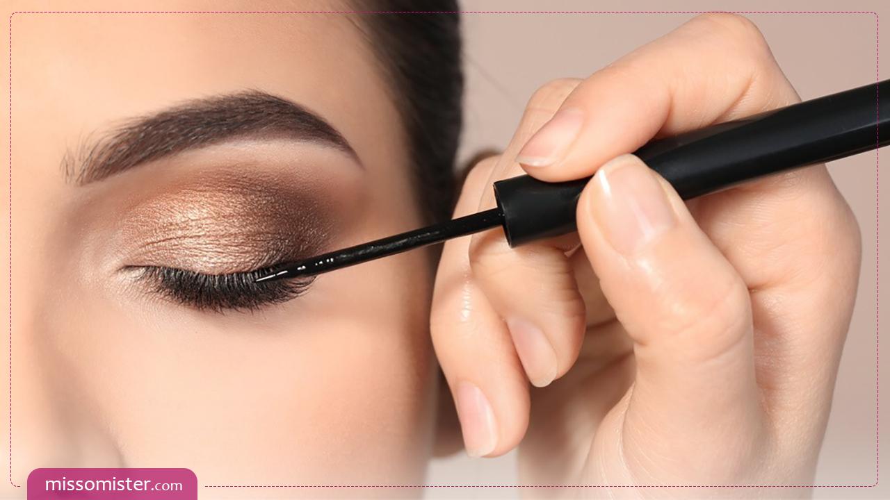 آموزش ترفندهای کشیدن خط چشم به صورت حرفه ای