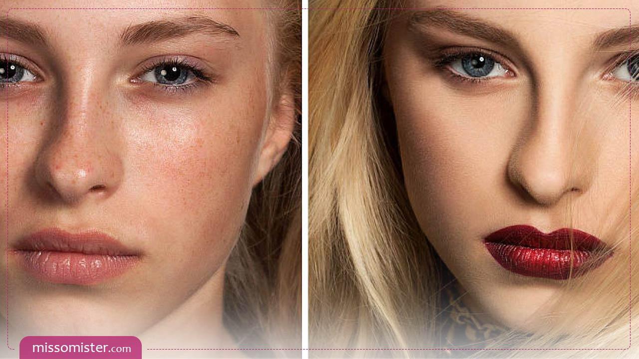 آموزش آرایش گریم صورت مرحله به مرحله برای افراد مبتدی