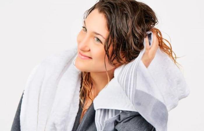 شستشو و خشک کردن موها
